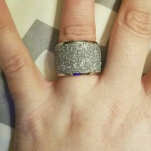 Size 6 stainless steel ring